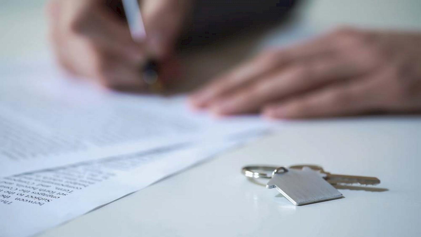 Der Kaufvertrag Für Die Immobilie